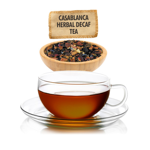 Caffeine Free Casablanca Herbal Tea  - Loose Leaf - Sampler Size - 1oz