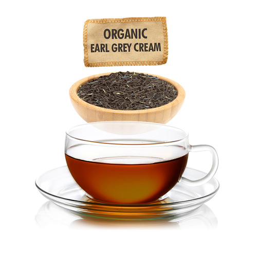 Organic Earl Grey Cream Tea  - Loose Leaf - Sampler Size - 1oz