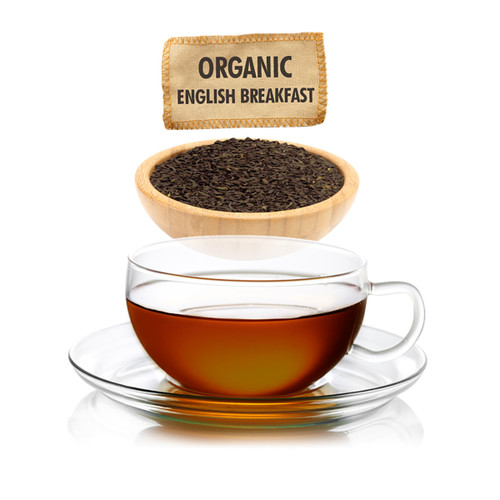 Organic English Breakfast Tea - Loose Leaf - Sampler Size - 1oz