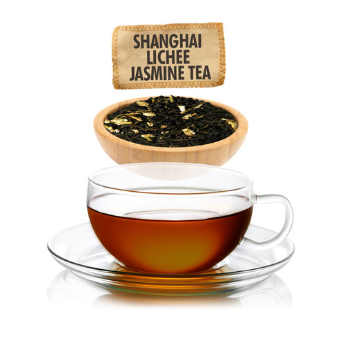 Shanghai Lichee Jasmine Green Tea - Loose Leaf - Sampler Size  - 1oz