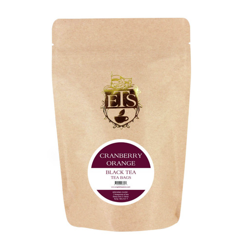 Cranberry Orange Flavored Black Tea - Tea Bags