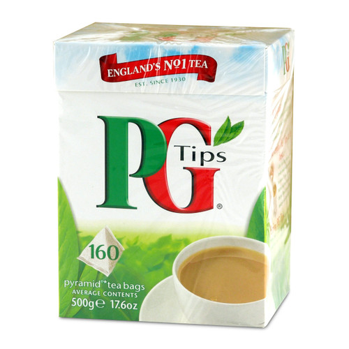 PG Tips Tea Bags - 160 count