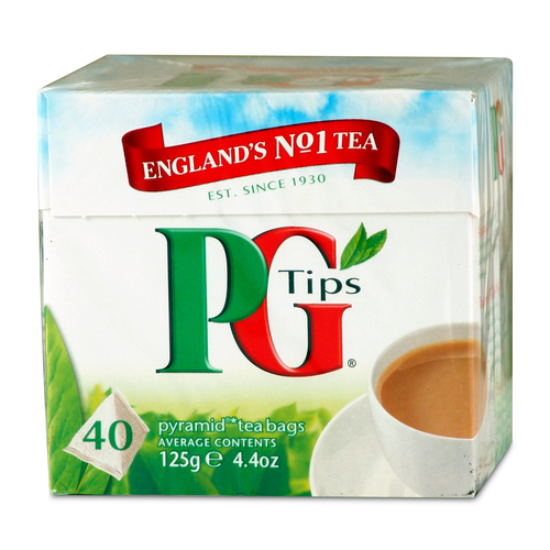 PG Tips Tea Bags - 40 count