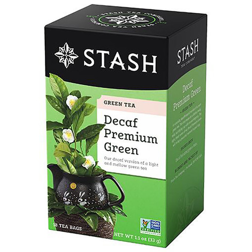 Stash Decaf Premium Green Tea - 18 count