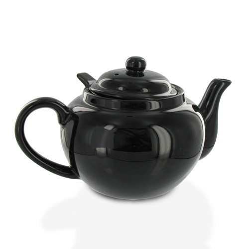 Amsterdam 2 Cup Infuser Teapot - Black