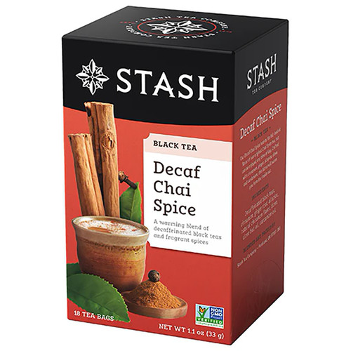 Stash Decaf Chai Spice Tea Bags - 18 count