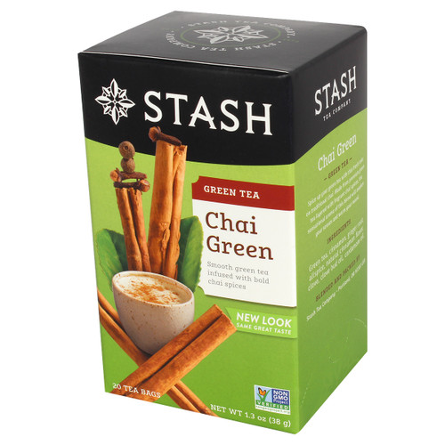 Stash Chai Green Tea Bags - 20 count