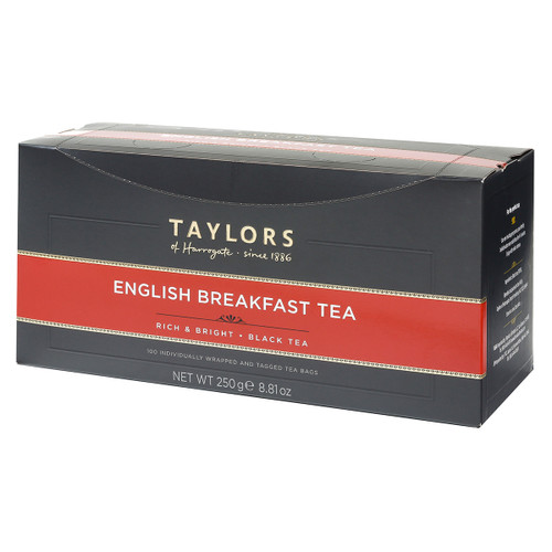 Taylors of Harrogate English Breakfast - String & Tag 100 count