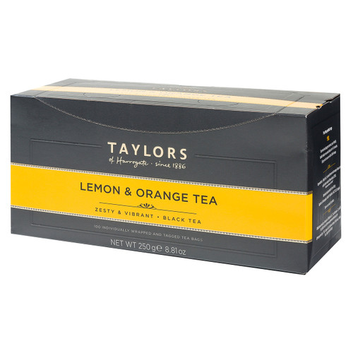 Taylors of Harrogate Lemon Orange - String & Tag 100 count