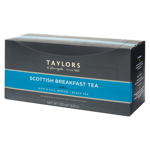 Taylors of Harrogate Scottish Breakfast - String & Tag 100 count