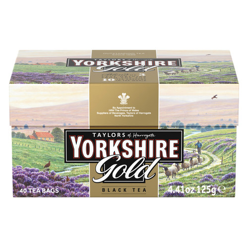 Yorkshire Gold Tea Bags - 40 count