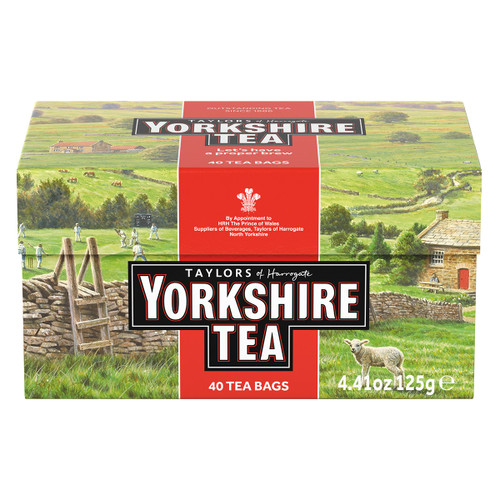 Yorkshire Red Tea Bags - 40 count