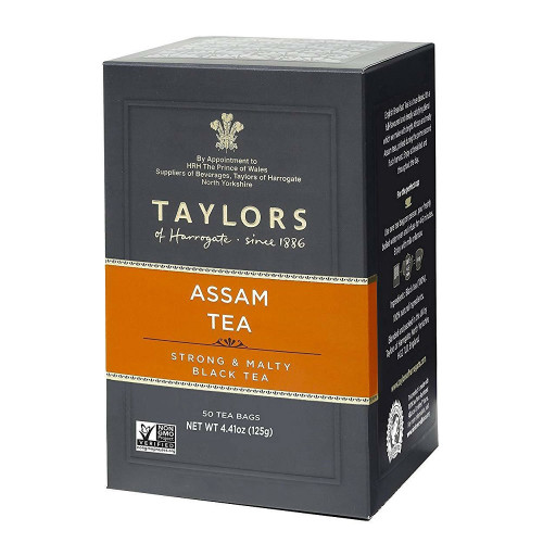Taylors of Harrogate -  Assam Tea Bags - 50 count