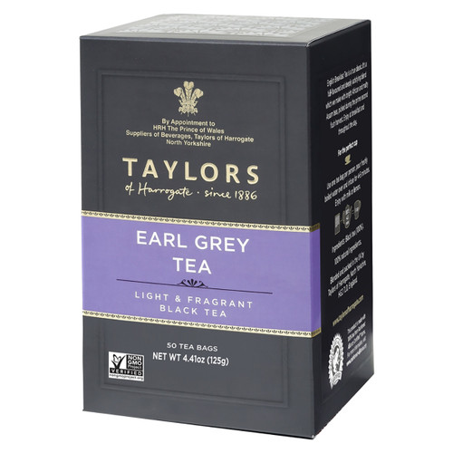 Taylors of Harrogate - Earl Grey Tea Bags - 50 count