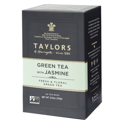 Taylors of Harrogate Green Tea with Jasmine Tea Bags - 50 count