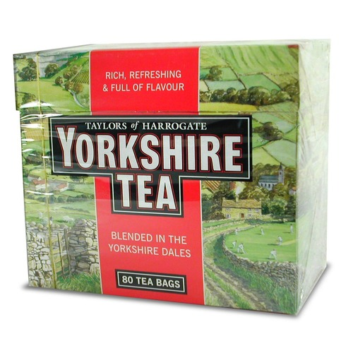 Yorkshire Red Tea Bags - 80 count