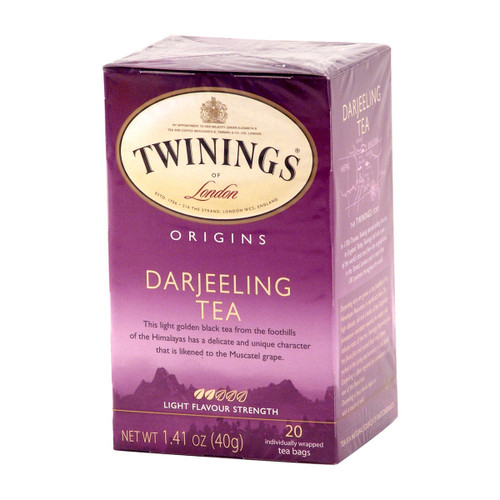 Twinings Darjeeling Tea - 20 count