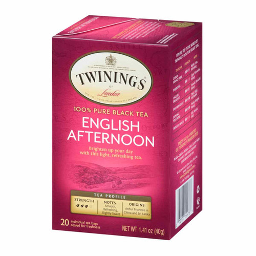 Twinings English Afternoon Tea - 20 count