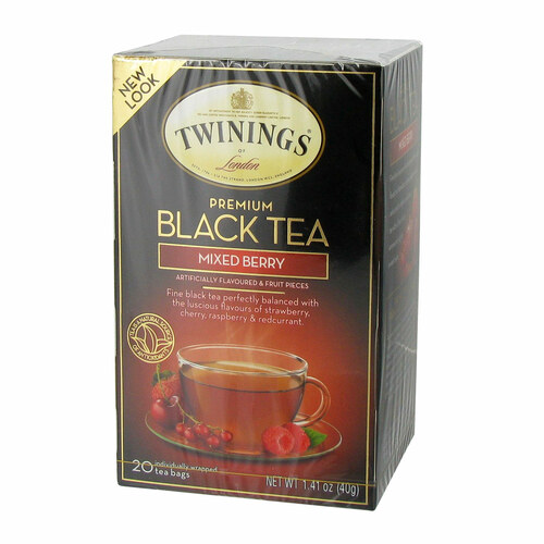 Twinings Mixed Berry Black Tea - 20 count