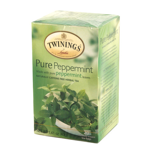 Twinings Pure Peppermint Herbal Tea - 20 count