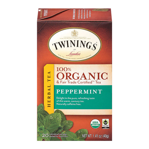 Twinings Organic Tea - Peppermint - 20 Count