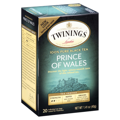 Twinings Prince of Wales Tea - 20 count