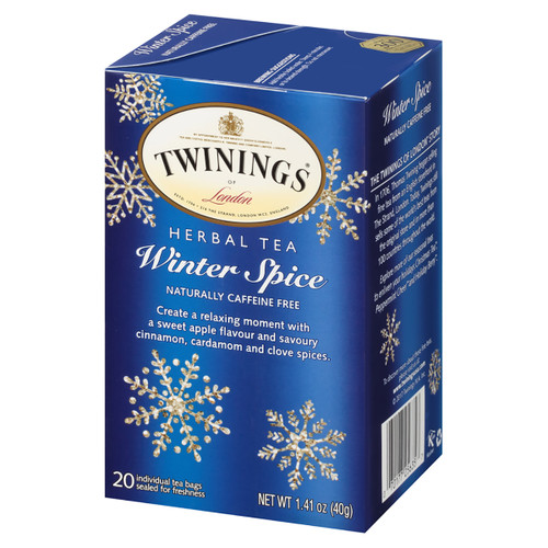 Twinings Herbal Tea - Winter Spice - 20 count