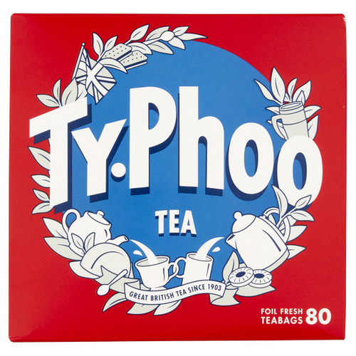 Typhoo Tea Bags - 80 count