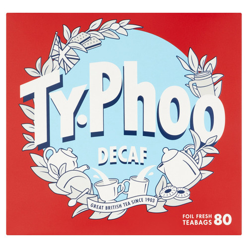 Typhoo Tea Decaf Tea Bags - 80 count