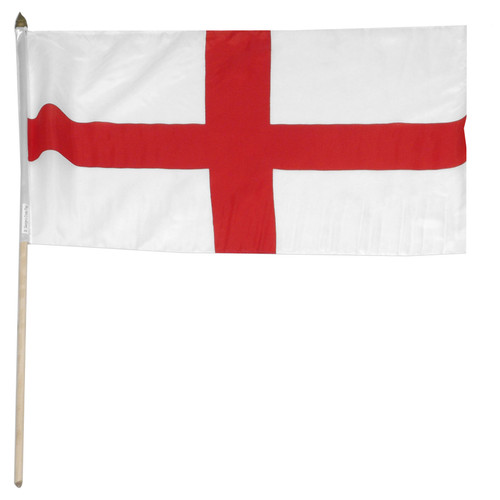 England - St.George Cross 12in x 18in Flag