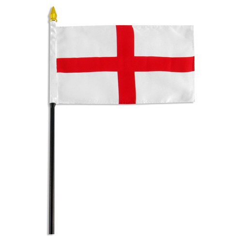 England - St.George Cross 4in x 6in Flag