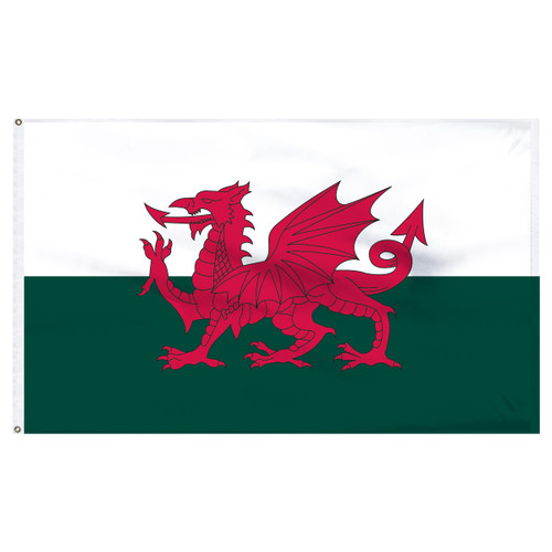 Wales - Welsh - 5ft x 8ft Nylon Flag
