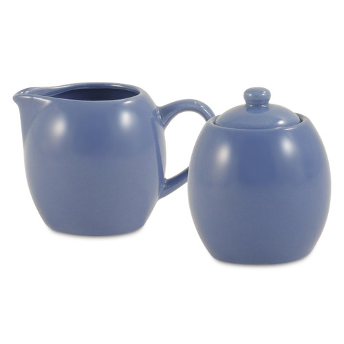 Amsterdam Cream & Sugar Set - Cadet Blue