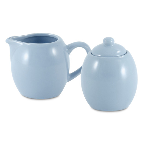 Amsterdam Cream & Sugar Set - Powder Blue
