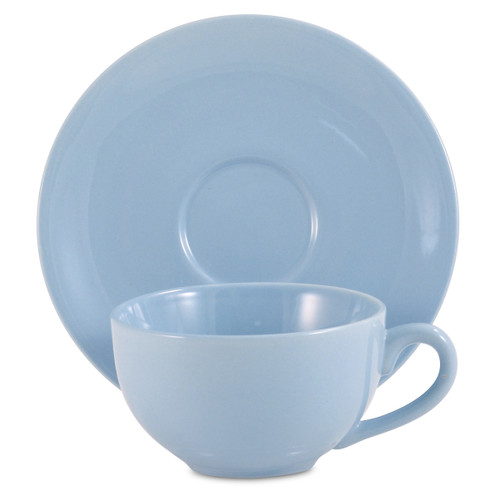 Amsterdam Tea Cup & Saucer - Powder Blue