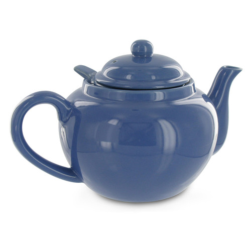 Amsterdam 2 Cup Infuser Teapot - Cadet Blue