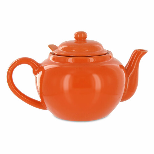 Amsterdam 2 Cup Infuser Teapot - Tangerine