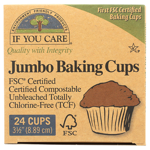 If You Care Jumbo Baking Cups - 3.5in (8.89cm)