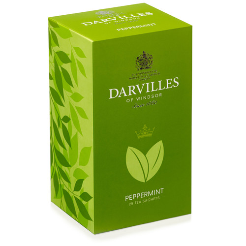 Darvilles of Windsor Raspberry & Ginseng Tea - 25 Count