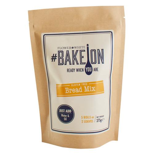 Flower White #BakeOn Gluten Free Bread Mix - 13.2oz  (375g)