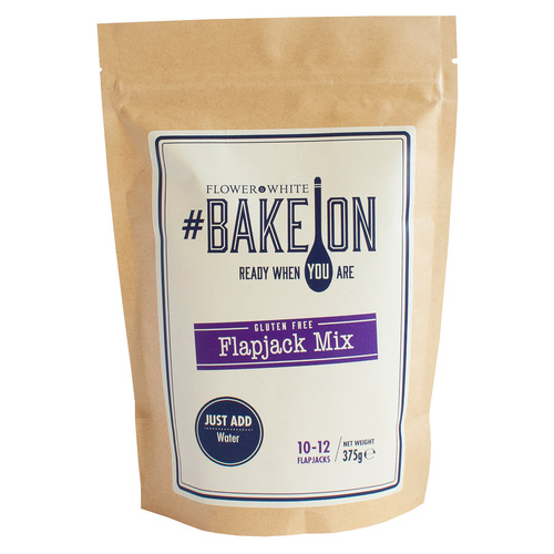 Flower White #BakeOn Gluten Free Flapjack Mix - 13.2oz  (375g)