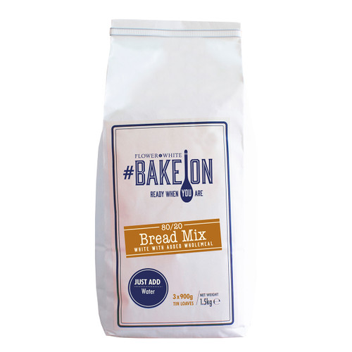 Flower White #BakeOn 80/20 White Bread Mix - 52.8oz (1.5kg)
