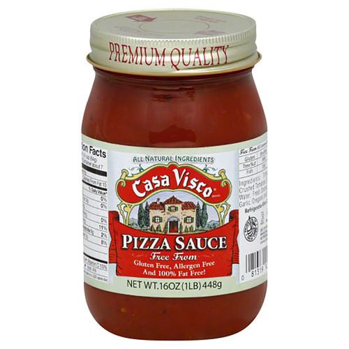 Casa Visco Pizza Sauce - Gluten & Allergen Free 16oz (448g)