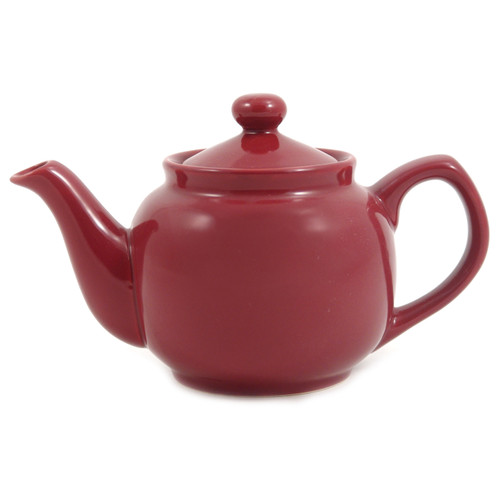 Amsterdam 2 Cup Teapot Burgundy