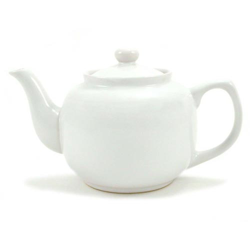 Amsterdam 6 Cup Teapot White