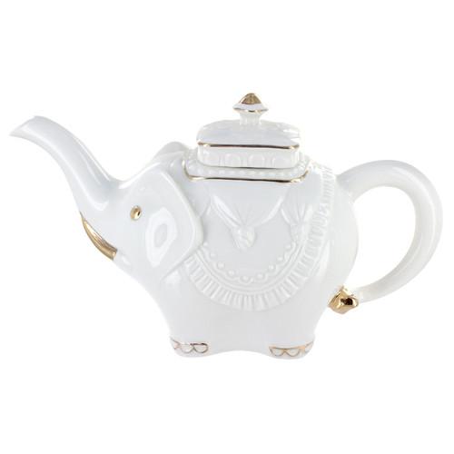 Royal Jaipur Porcelain 6 cup Teapot