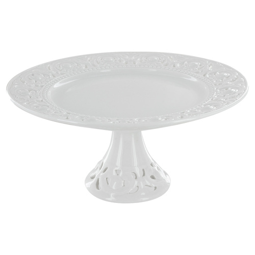 Beaufort Porcelain Cake Stand - Small