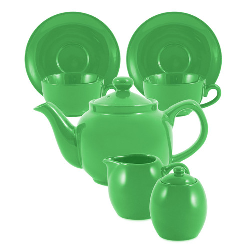 Amsterdam Tea Set - 2 Cup - Lime