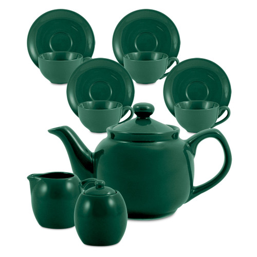Amsterdam Tea Set - 6 Cup - Green