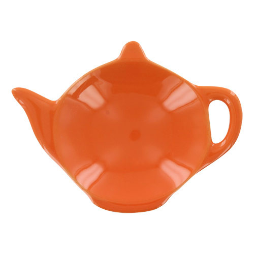 Teaz Cafe Tea Caddy - Orange
